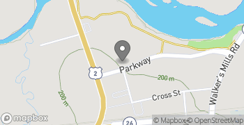 Map for 16 Parkway Bethel ME 04217
