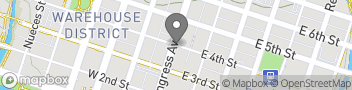 Map for 401 Congress Avenue, Suite 1540 Austin TX 78701